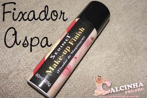 Make-up Finish Serinet - Fixador de Make - Aspa Cosméticos
