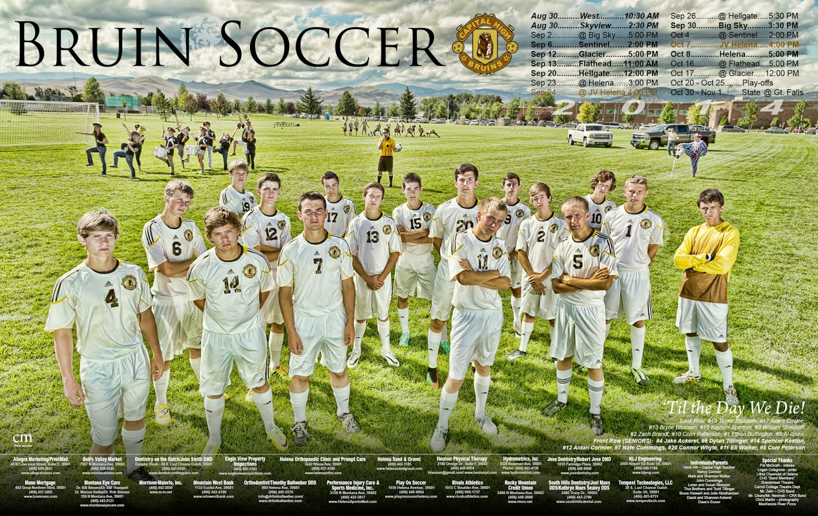 chris martin photography - soccer poster