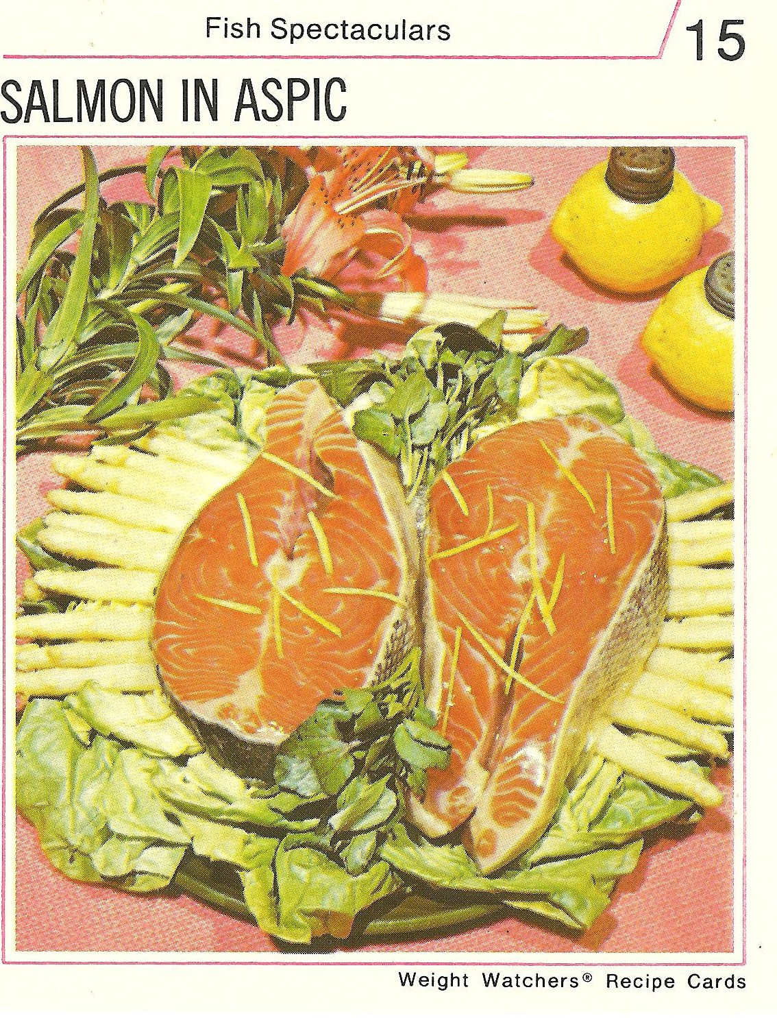Bad and ugly of retro food watch the weight recipe cards 8 this should be a warning to all not only is the fish scary scary raw but theres hidden aspic on it somewhere forumfinder Gallery