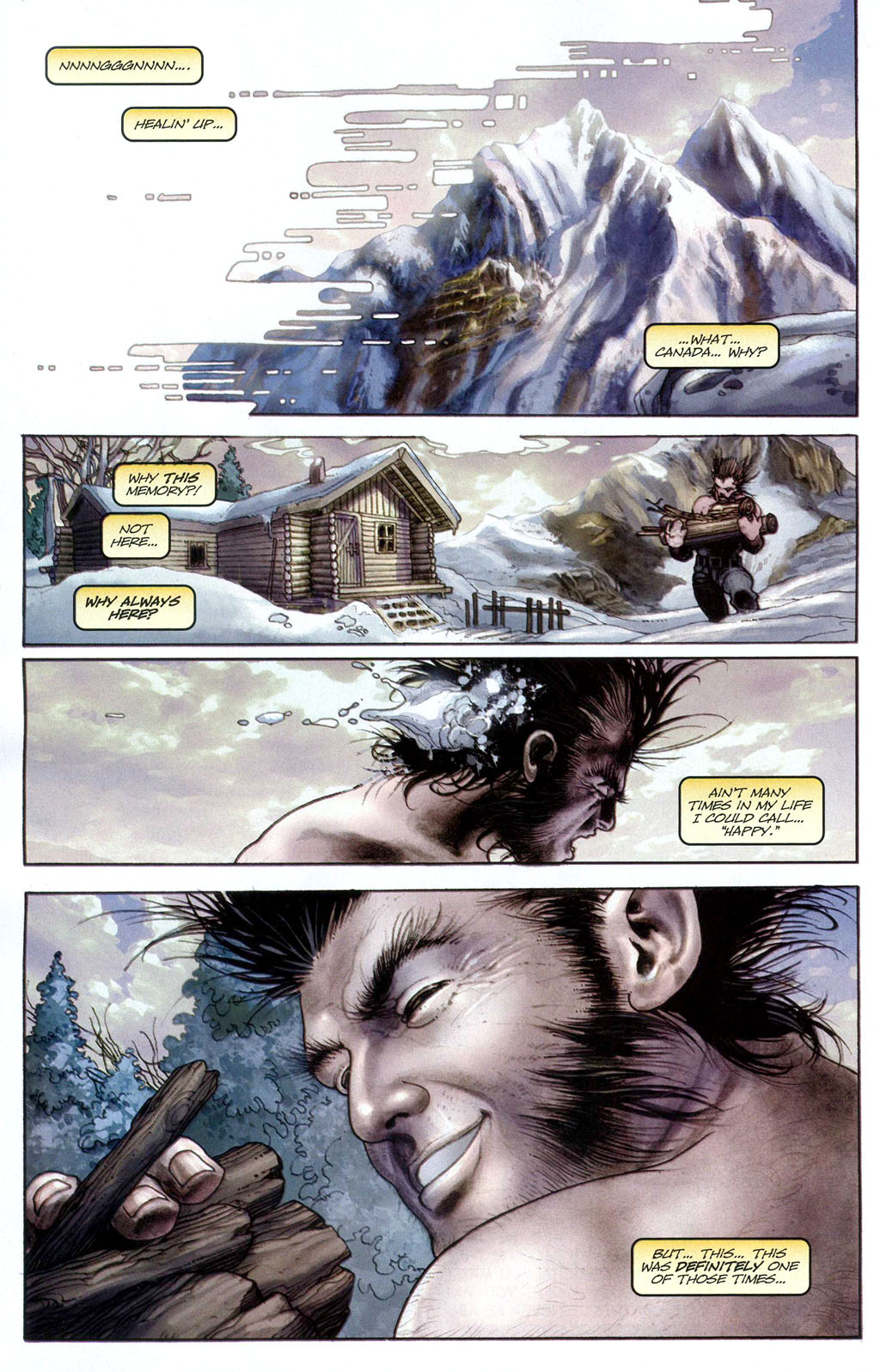 Read online Wolverine (2003) comic -  Issue #50 - 14