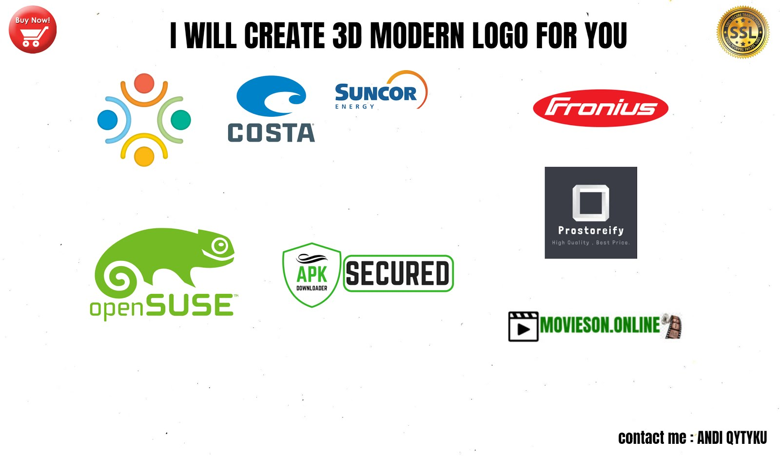 BUY CHEAP 3D MODERN LOGO