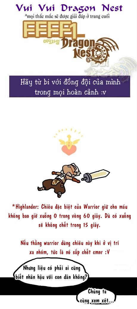 Dragon Nest Random Scribbles chap 9 - Trang 1