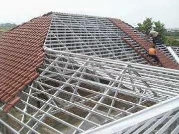 Gambar Rangka Atap Baja Ringan