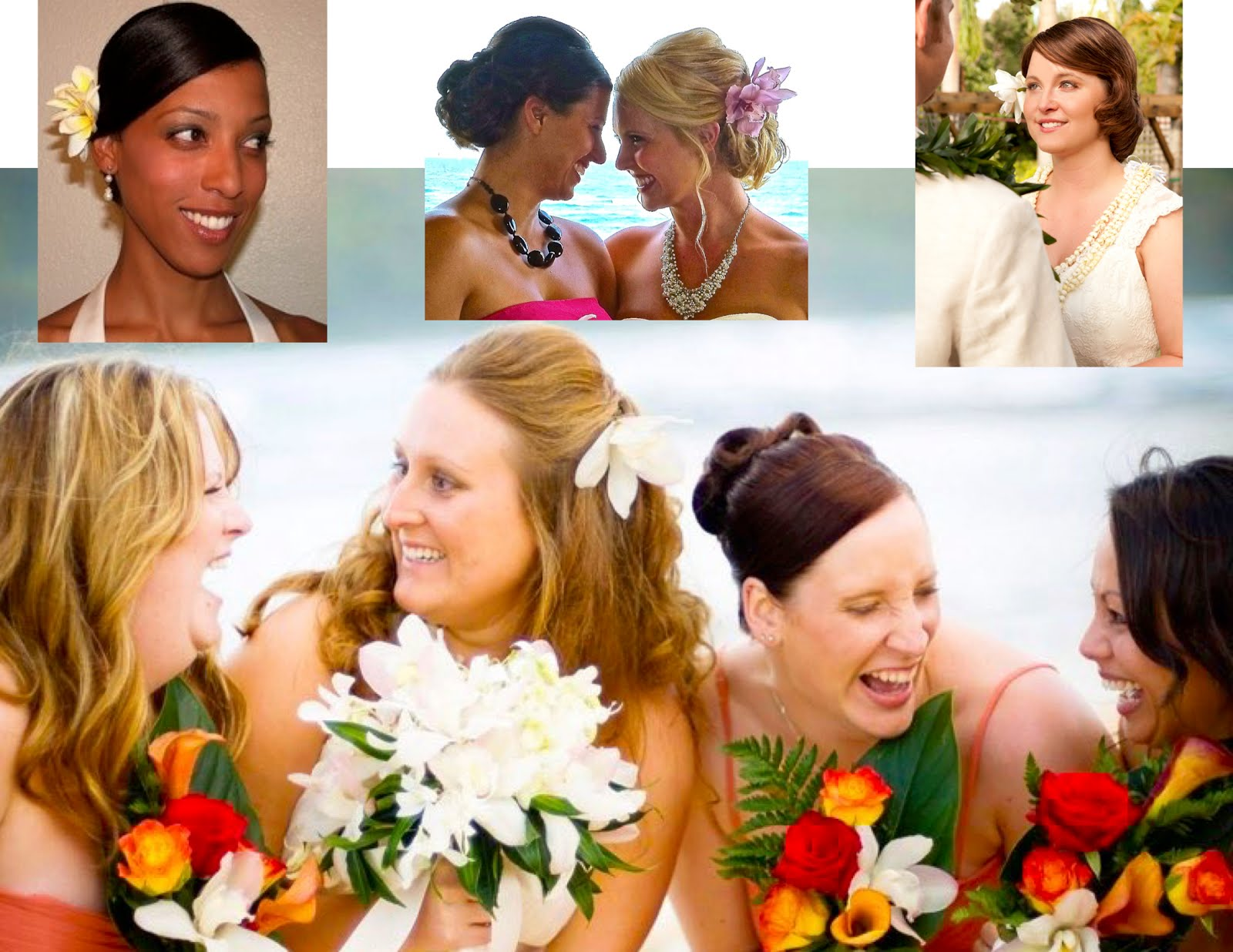 Kauai Destination Brides  Hair and Makeup in Salon or Onsite