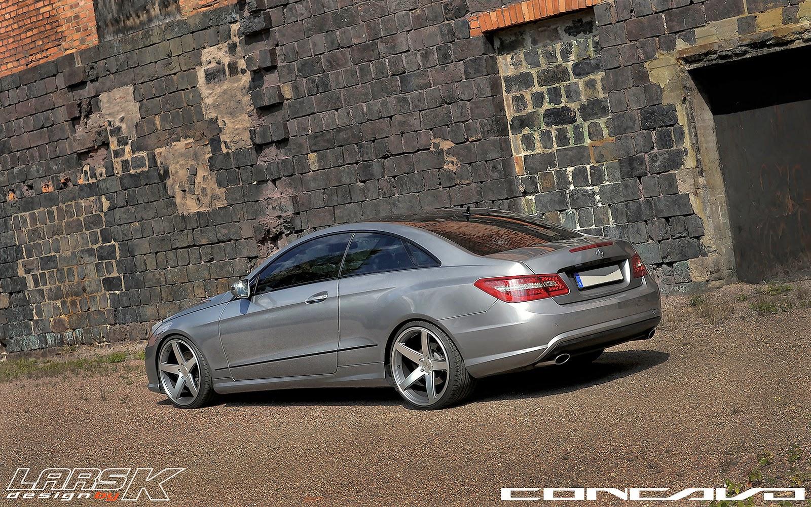Mercedes-Benz W207 E350 on Concavo CW-5 | BENZTUNING
