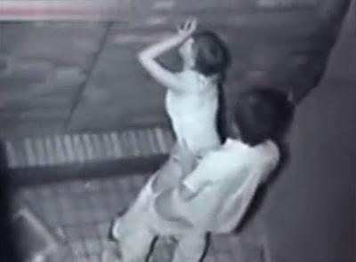 Câmera de Segurança Flagra Casal Jovem