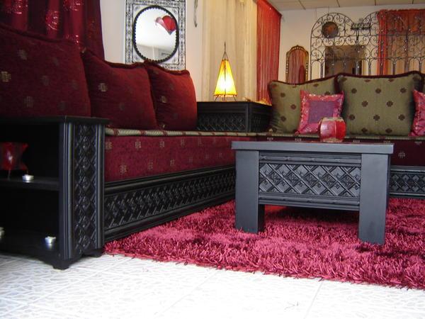 Salon marocain for Salon americain
