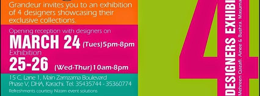 grandeur designer exhibition mehreen qazafi