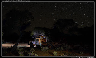 Orion setting in the Goldfields of Western Australia