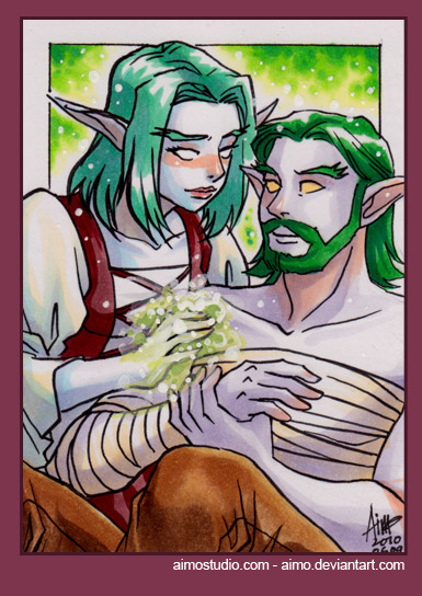 PSC - Night Elf Couple por aimo