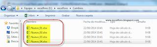 VBA: Cambiar nombres de ficheros con la instrucción NAME.