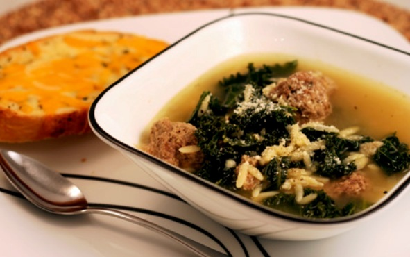 The Bestest Recipes Online: Italian Meatball Soup