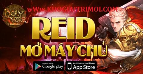 Game Holy War khai mở máy chủ S51_Reid