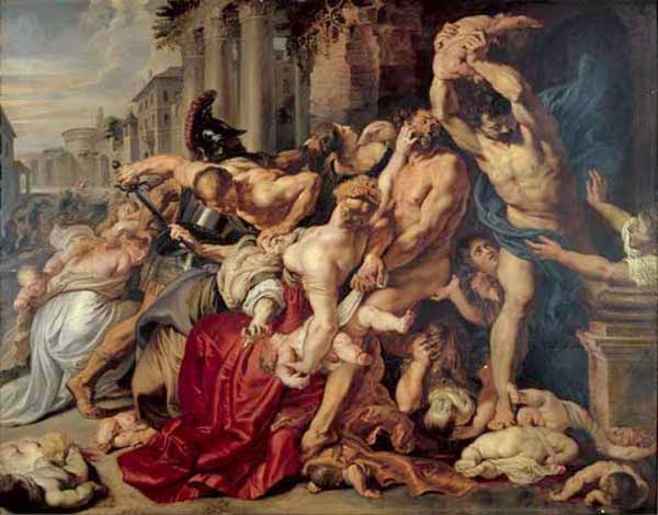 Peter Paul Rubens Massacre of the innocents