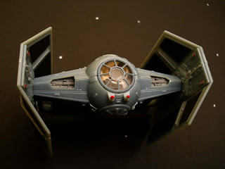kit de revell del Tie fighter de Darth Vader