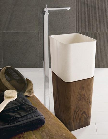 natural modern interiors: Bathroom Design Ideas :: Basins & Sinks