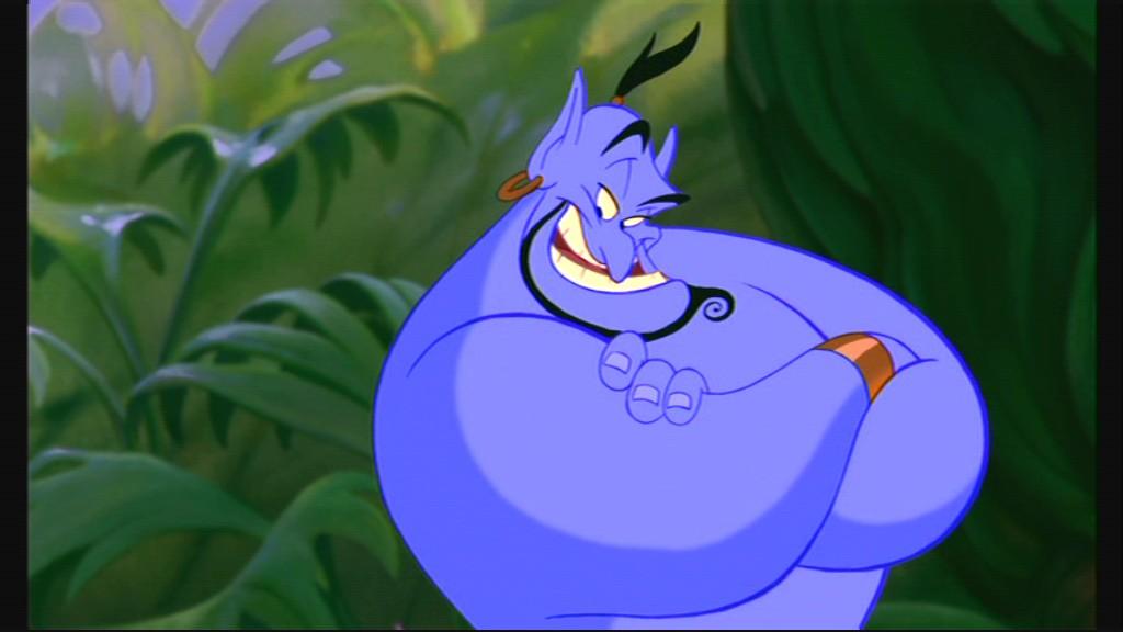 10 Disney Aladdin Genie Funny Characters ...