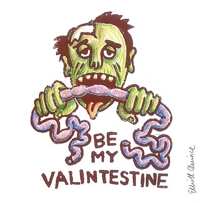 Elegant This Romantic Valentine Comes From ~RoscoFink At DeviantArt. I Love The  Hand Drawn Zombie And The Adorable Message.