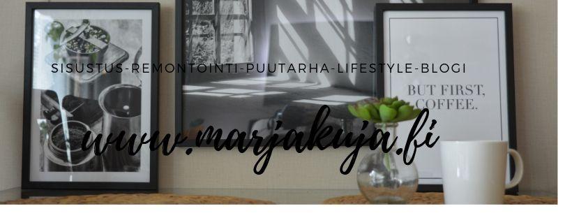 Lifestyle Blogi | www.marjakuja.fi