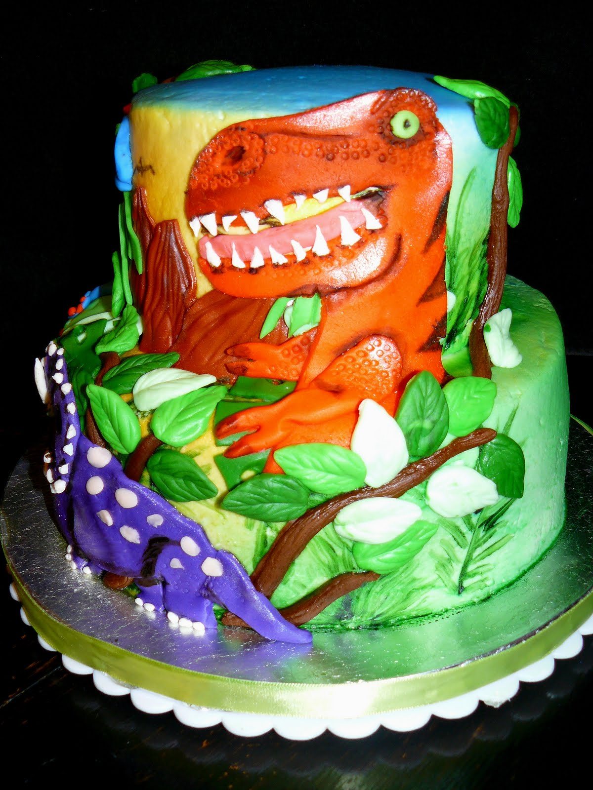 The Woodlands Cake Boutique Prehistoric Party