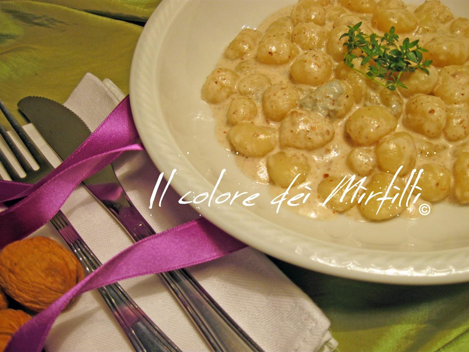 gnocchetti gorgonzola e noci,gnocchi,gnocchetti,gorgonzola,noci,primi piatti