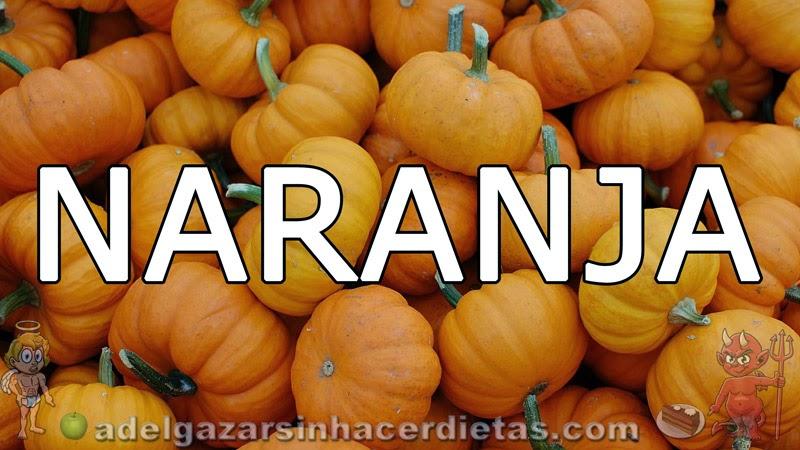 Beneficios de los vegetales según su color - Naranja