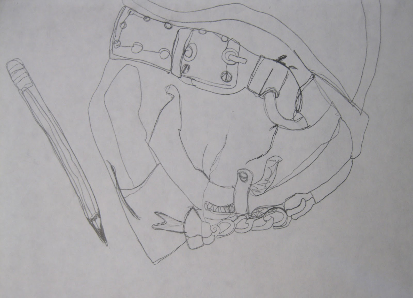 Contour Line Drawing Of A Person : Project art a day lesson i can t resist it contour line drawing
