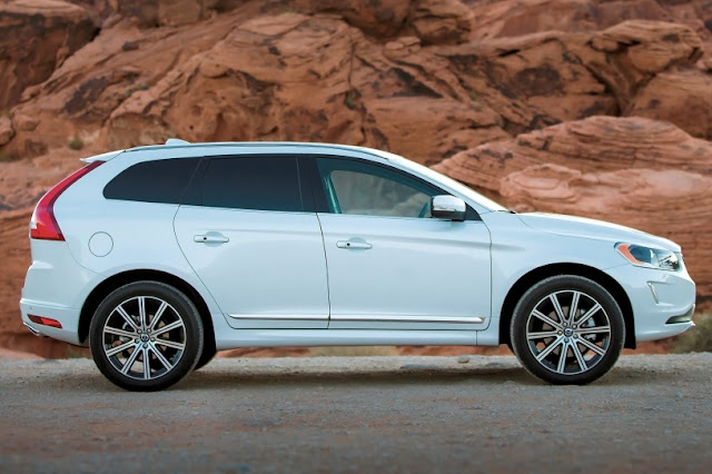 Volvo XC60 New Model 2015 side eagle view