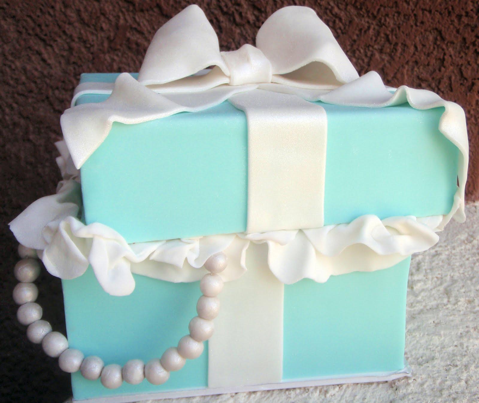how to make a tiffany cake box
