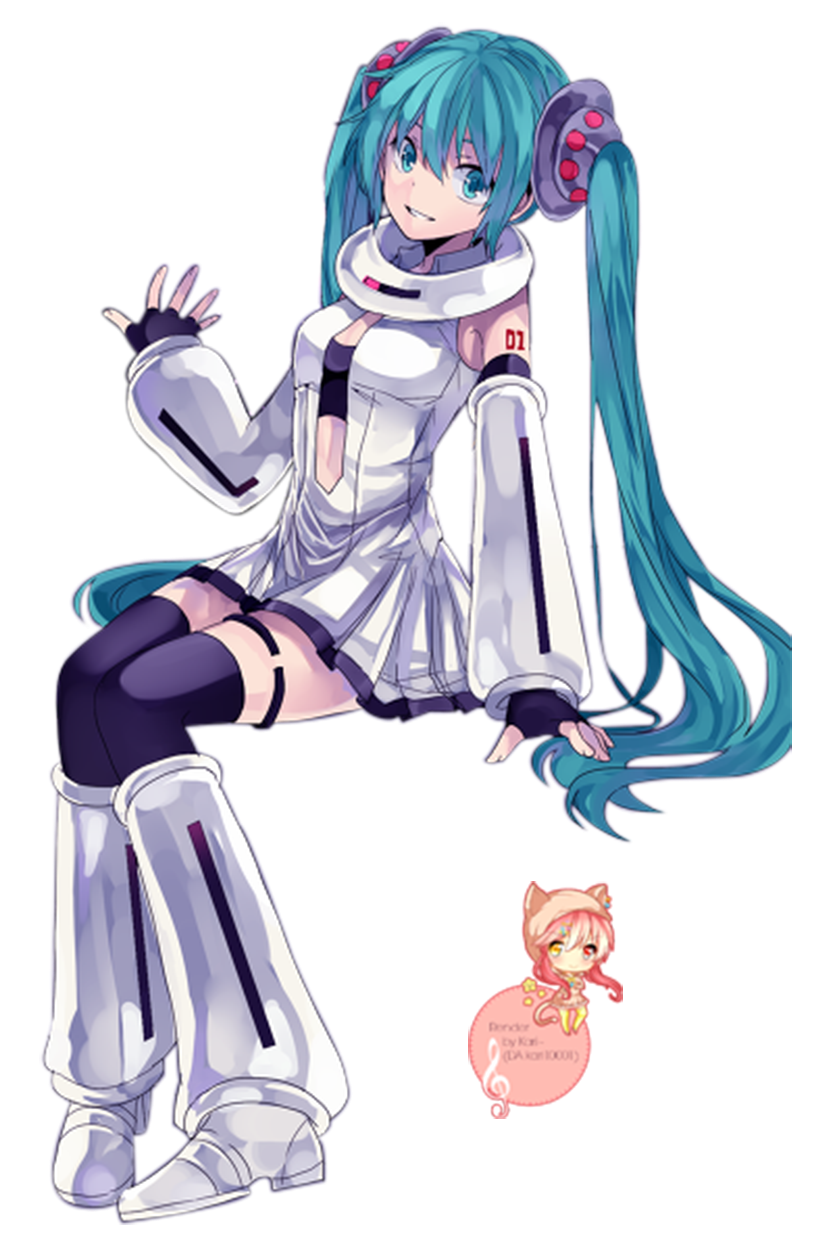 [Render] Space Hatsune Miku