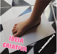 Atividade Sensorial O PINGUIM de Vinicius de Moraes Carimbo de pés
