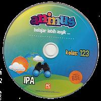 toko buku rahma: buku CD ANIMUS IPA KELAS 1, 2, 3  SD