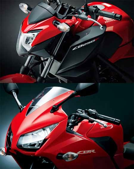 Batok lampu Honda CBR250R vs CB250F