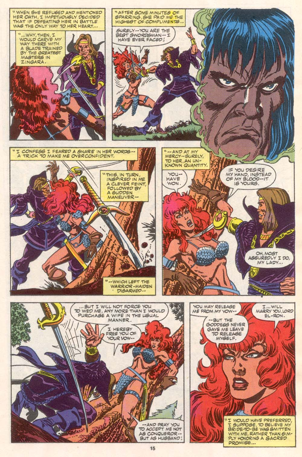 Conan the Barbarian (1970) Issue #242 #254 - English 12