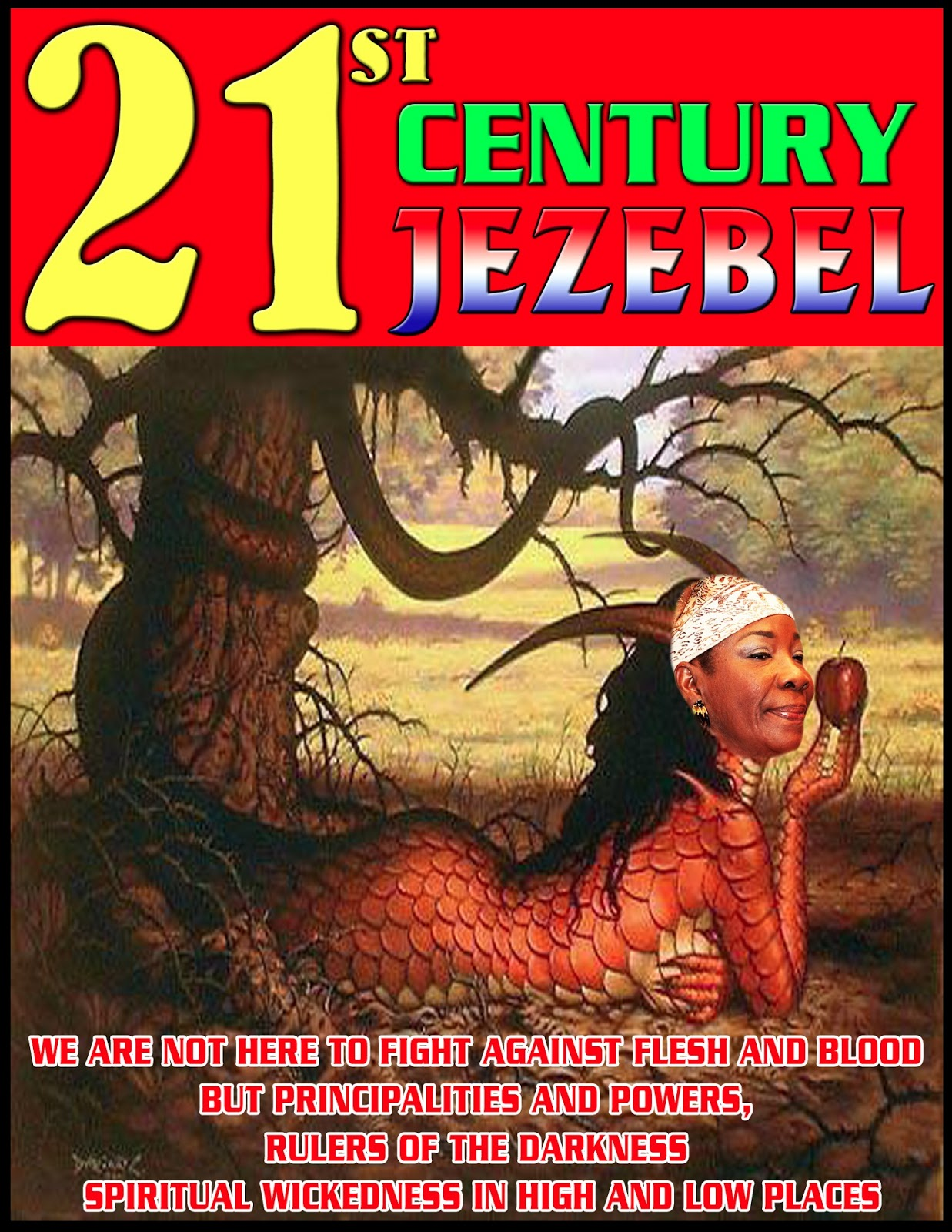 """The name """"Jezebel"""" recurs in the book of Revelation where Jesus says this to His church, """"I have this against you: You tolerate that woman Jezebel, ..."""