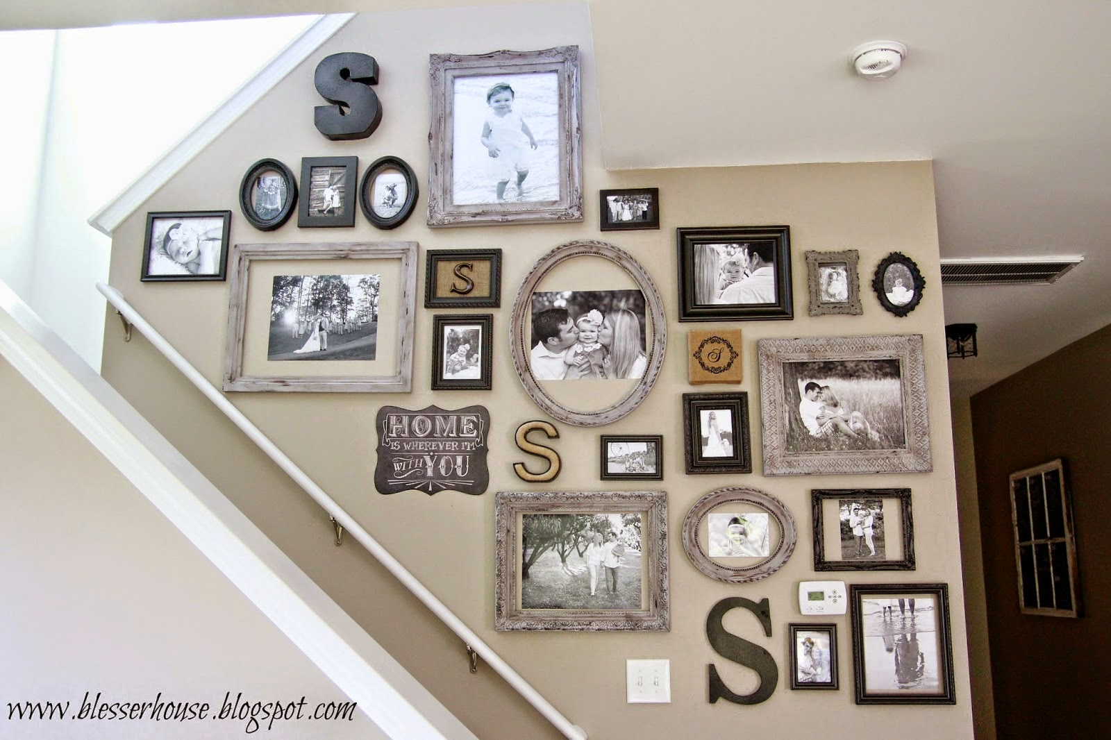 How To Create A Family Gallery Wall Daily Dish Magazine Recipes