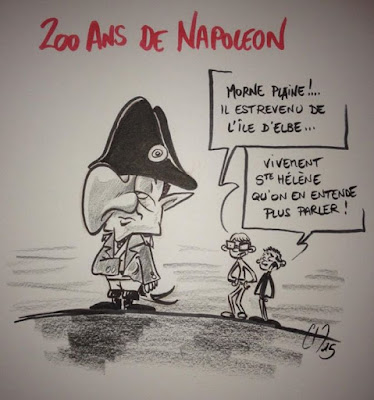 Caricature Sarko-leon - Guillaume Néel ©
