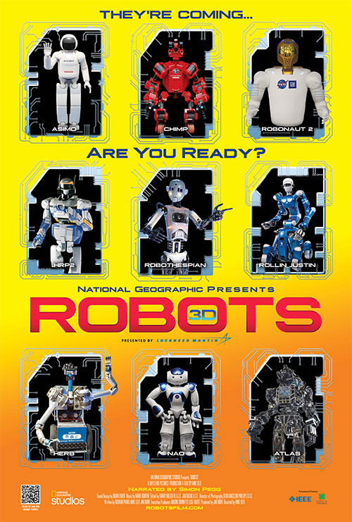 """National Geographic's """"ROBOTS"""" 