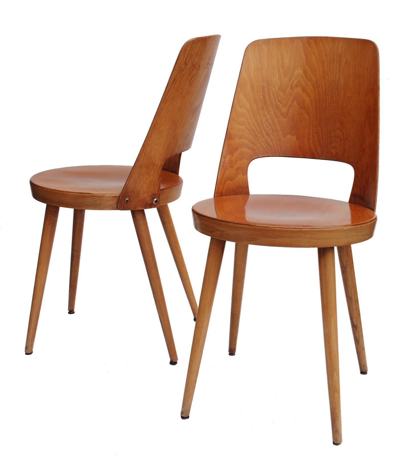 Bo vintage chaises bistro baumann ann es 60 - Chaise design annee 50 ...