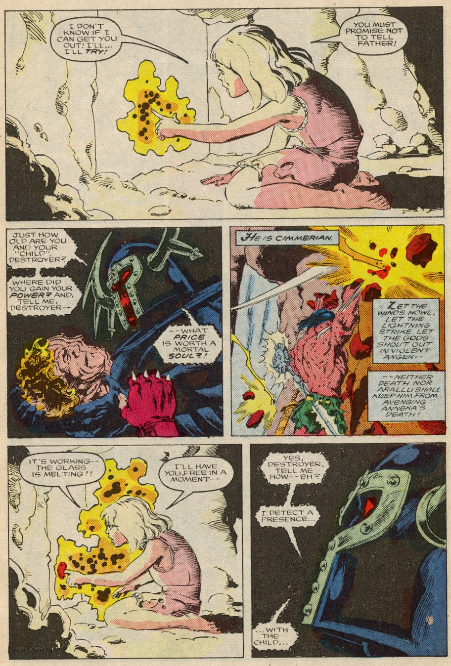 Conan the Barbarian (1970) Issue #194 #206 - English 17