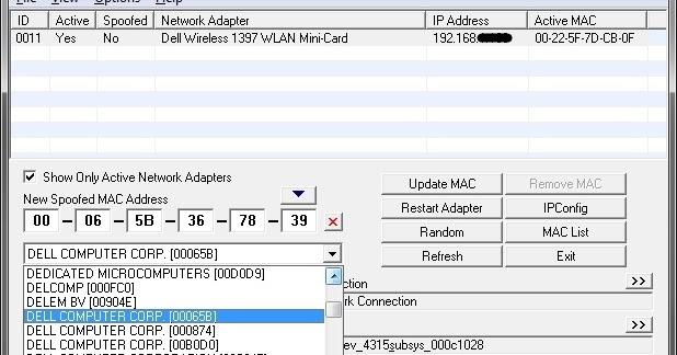 SMAC v2.7 Full Crack - phần mềm change địa chỉ MAC của máy tính (dành cho các bạn chiến Offer ...