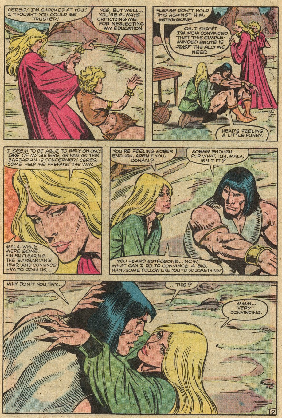 Conan the Barbarian (1970) Issue #146 #158 - English 12