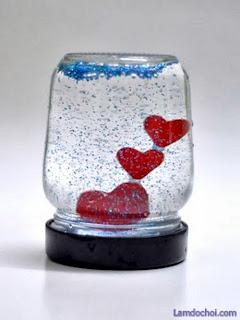 làm quà Valentine handmade