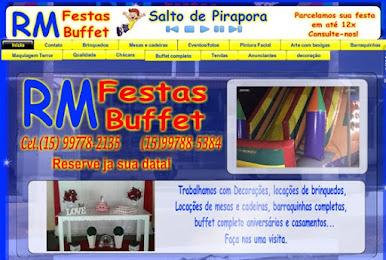 RM Festas e Buffet | Salto de Pirapora