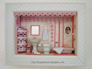 Miniatura de banheiro