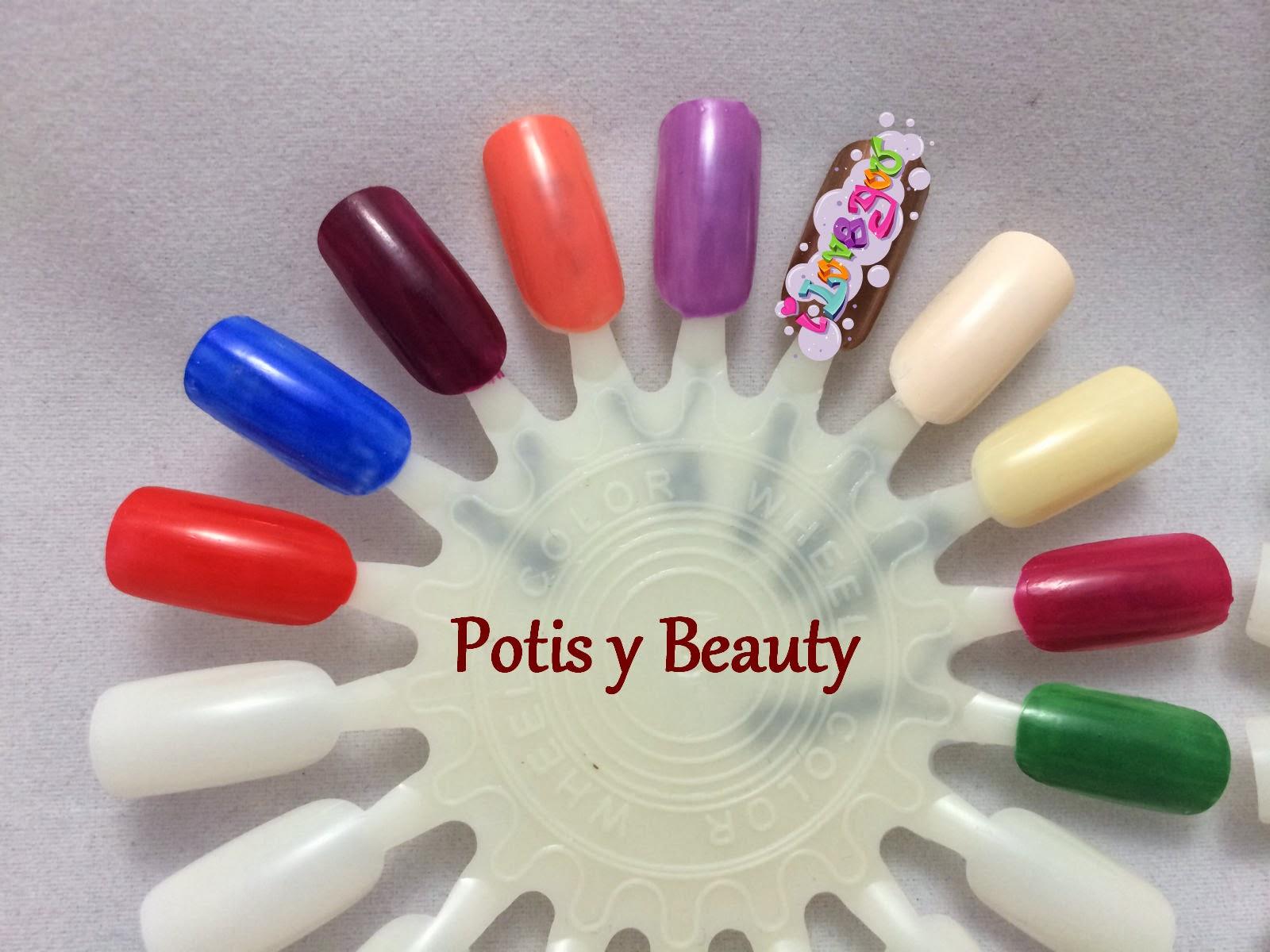 esmaltes de uñas variados