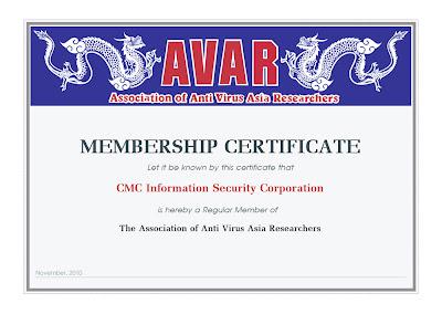 CMC Infosec | AVAR