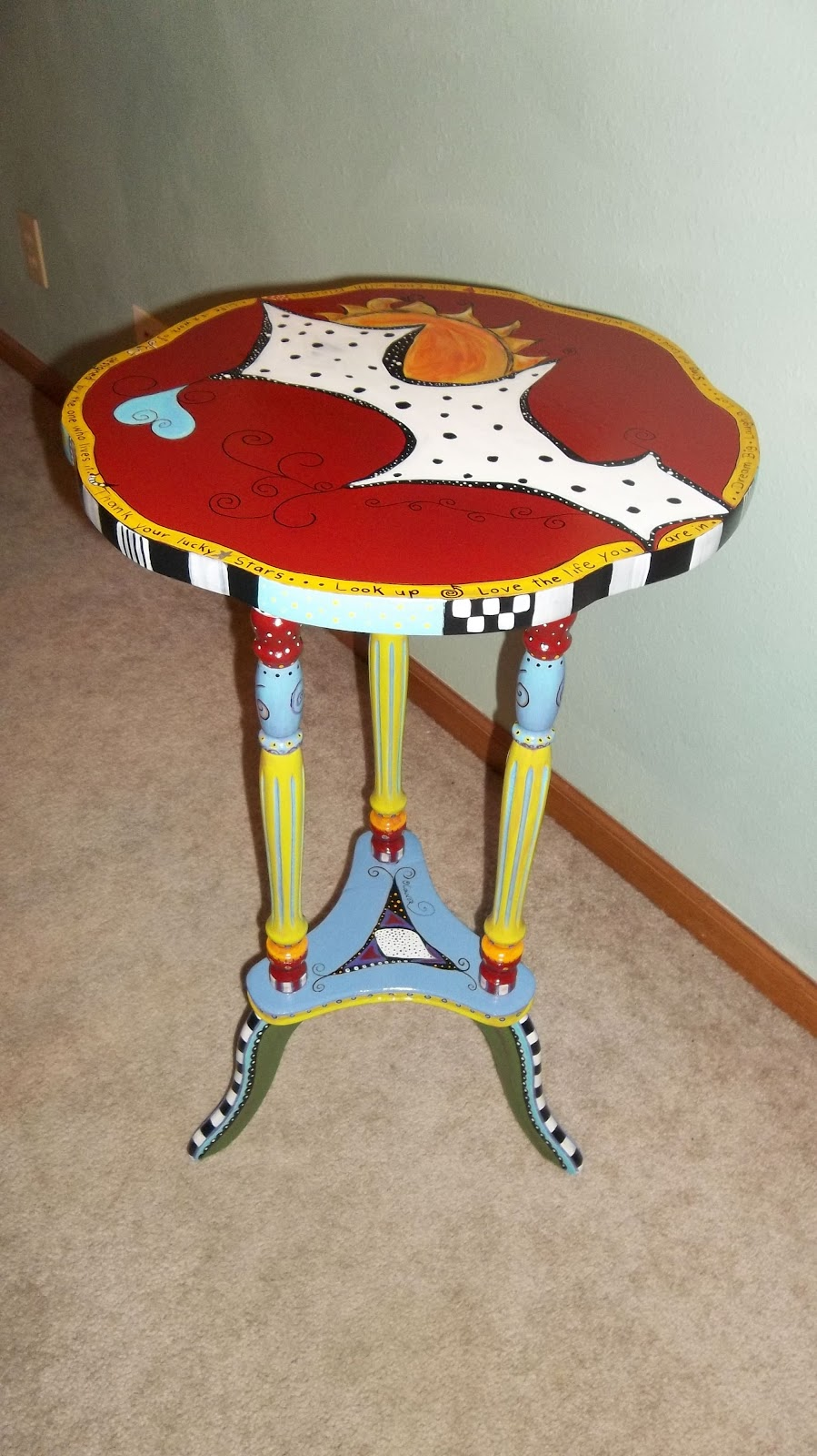 Carolyn 39 s funky furniture for Funky furniture