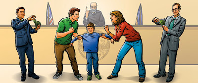 Διαζευγμένος Πατέρας Δεν χρειάζεται να πληρώνει διατροφή για τα παιδιά του, σύμφωνα με δικαστική απόφαση.