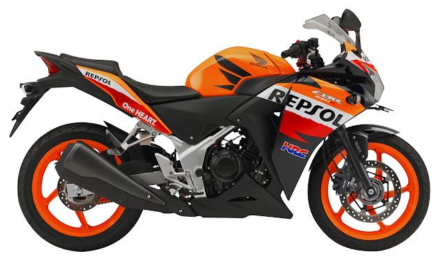 Honda CBR250R Non ABS Repsol Edition